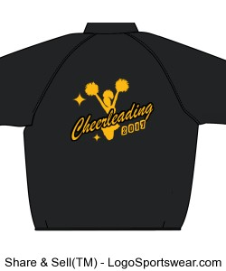 cheerleading Jacket Design Zoom