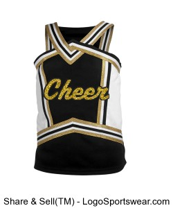 cheerleading uniform top. Design Zoom